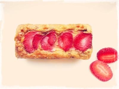 cake avoine fraises